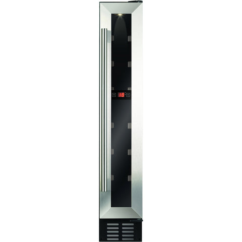 CDA FWC153SS 15cm freestanding wine cooler Stainless Steel-Appliance People