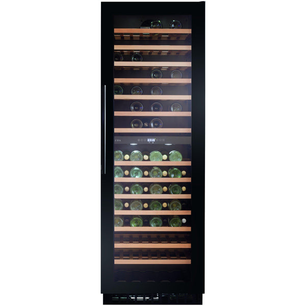 CDA FWC861BL Full height wine cooler Black-Appliance People