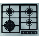 CDA HG6350SS Four burner gas hob Stainless Steel-Appliance People