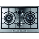 CDA HG7500SS Four burner gas hob Stainless Steel-Appliance People