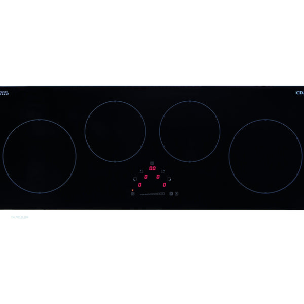 CDA HN9626FR Four zone linear induction hob Black-Appliance People