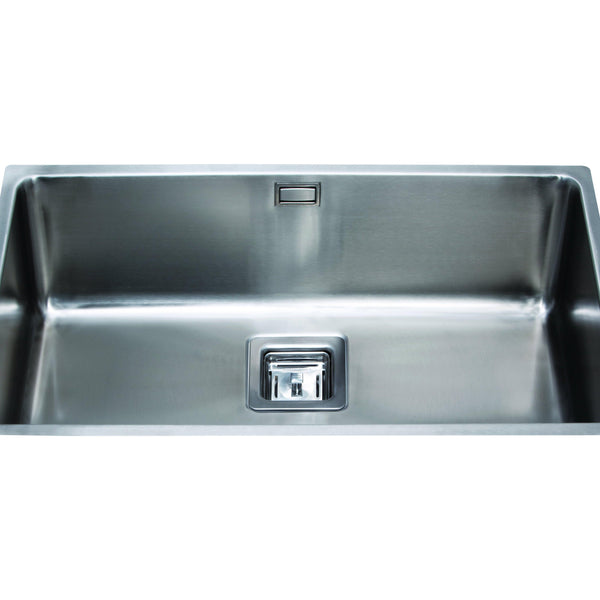CDA KSC25SS Undermount square single bowl sink Stainless Steel-Appliance People