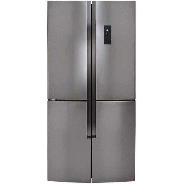 CDA PC880SC Freestanding 4 door fridge freezer Stainless Steel-Appliance People