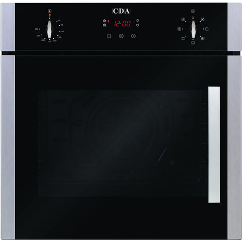 CDA SC620SS Seven function electric side opening oven Stainless Steel-Appliance People
