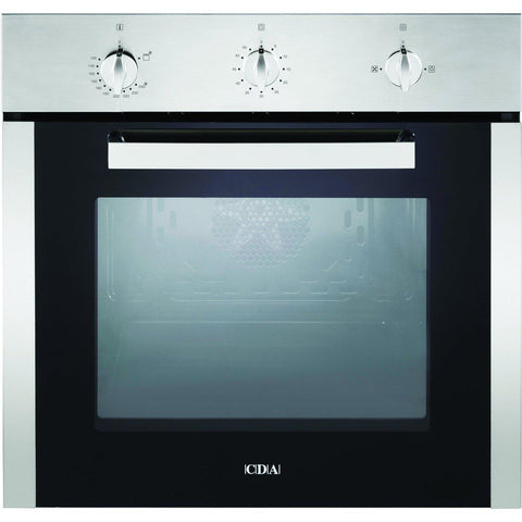CDA SG120SS Five function gas oven Stainless Steel-Appliance People
