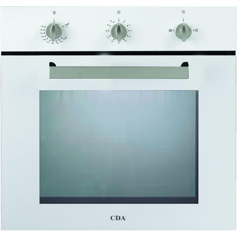 CDA SG120WH Five function gas oven Stainless Steel-Appliance People