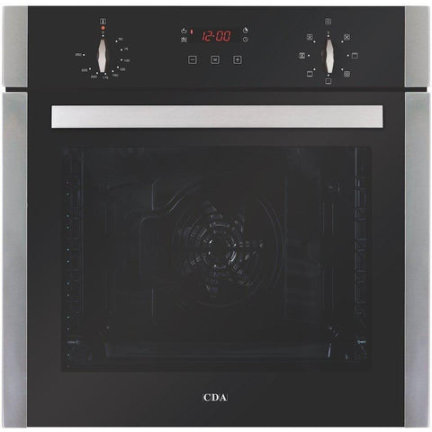 CDA SK310SS Seven function large capacity single oven Stainless Steel-Appliance People