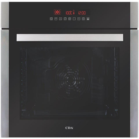 CDA SK410SS Ten function large capacity single oven Stainless Steel-Appliance People