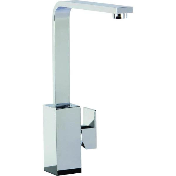 CDA TV9CH Square contemporary side lever tap in chrome Chrome-Appliance People