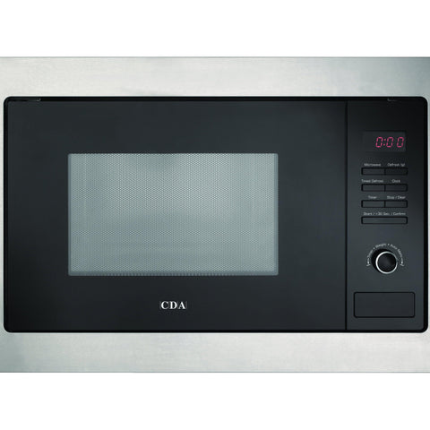 CDA VM130SS Built in microwave Stainless Steel-Appliance People