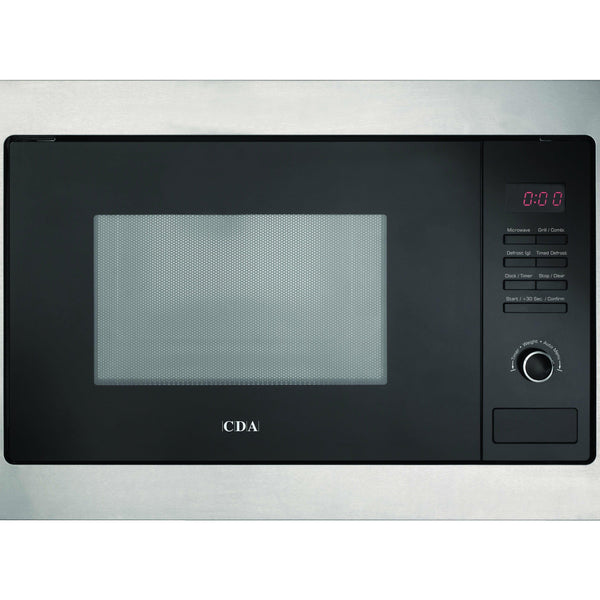 CDA VM230SS Built in microwave & grill Stainless Steel-Appliance People