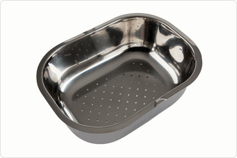 The 1810 Company VELORE COLANDER Accessories Stainless Steel-Appliance People