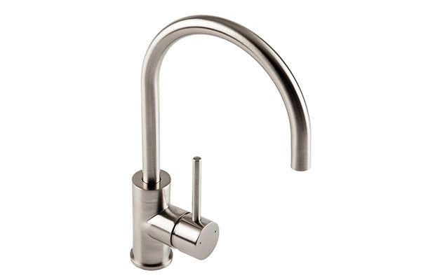 The 1810 Company COURBE CURVED SPOUT Tap Brushed Steel-Appliance People