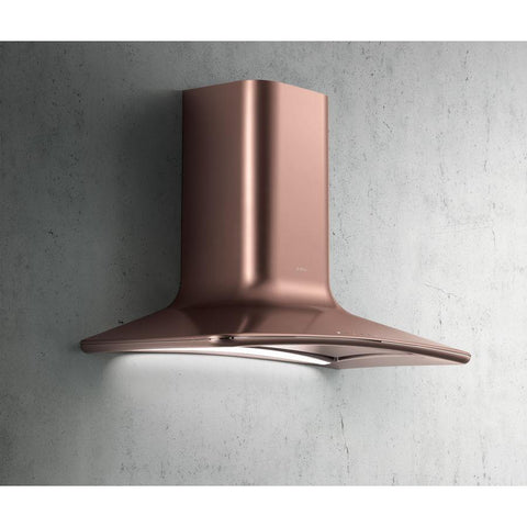 Elica Dolce Copper Chimney Hood-Appliance People