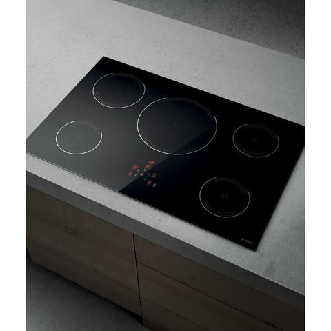 Elica Golden 805 80cm Bl Induction Hob Black Glass-Appliance People