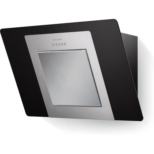 Faber City EG6 A60 60cm Hood Black Glass-Appliance People