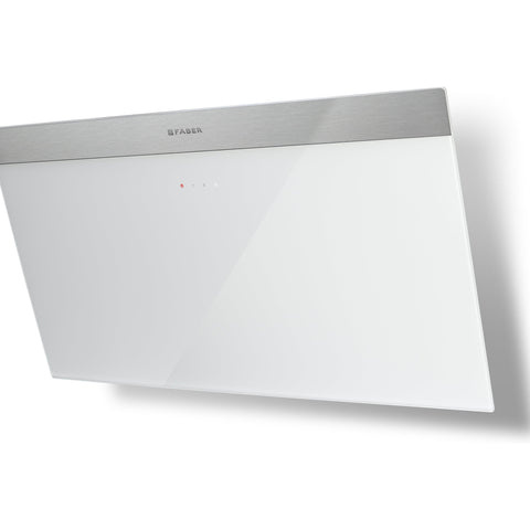 Faber Daisy B EG6 A80 80cm Hood White Glass-Appliance People