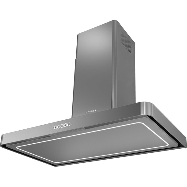 Faber T-Light EV8P A90 90cm Hood Stainless Steel-Appliance People
