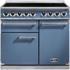 Falcon F1000DXEICA/N-EU 1000 Deluxe 100cm Induction Range Cooker China Blue-Appliance People