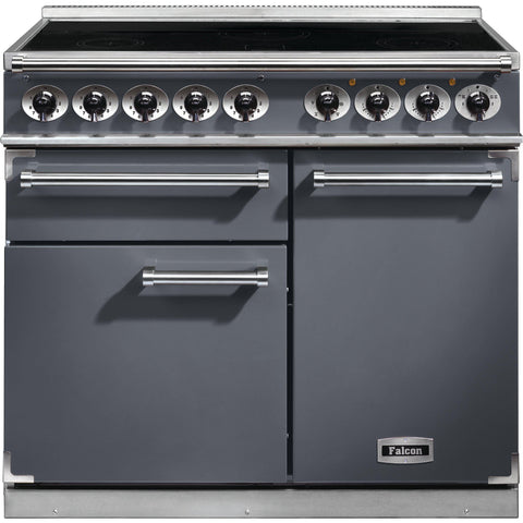 Falcon F1000DXEISL/N-EU 1000 Deluxe 100cm Induction Range Cooker Slate-Appliance People