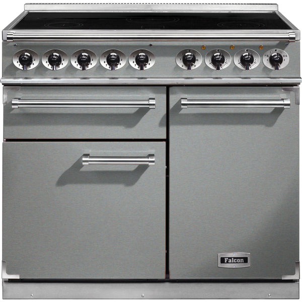 Falcon F1000DXEISS/C-EU 1000 Deluxe 100cm Induction Range Cooker Strainless Steel-Appliance People