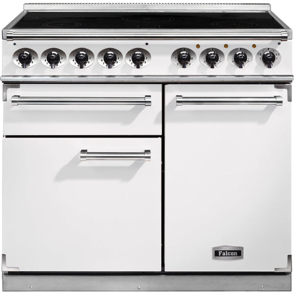 Falcon F1000DXEIWH/N-EU 1000 Deluxe 100cm Induction Range Cooker White-Appliance People