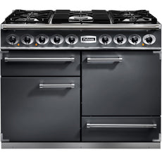 Falcon F1092DXDFSL/NM 1092 Deluxe 110cm Dual Fuel Range Cooker Slate-Appliance People