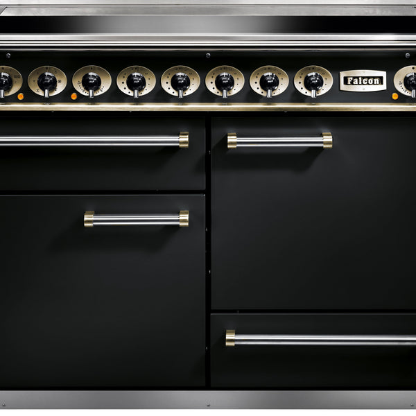 Falcon F1092DXEIBL/EU 1092 Deluxe 110cm Induction Range Cooker Black-Appliance People