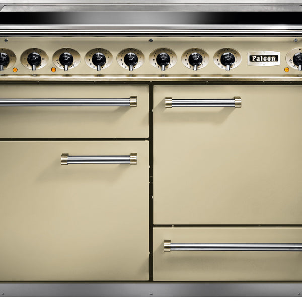 Falcon F1092DXEICR/EU 1092 Deluxe 110cm Induction Range Cooker Cream-Appliance People