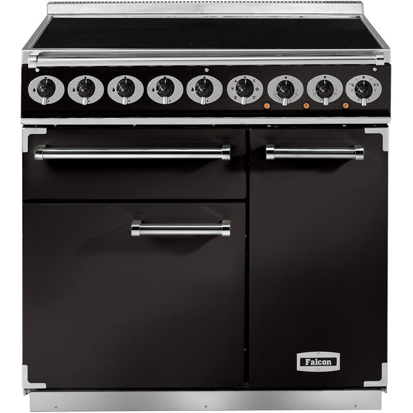 Falcon F900DXEIBL/EU 900 Deluxe 90cm Induction Range Cooker Black-Appliance People