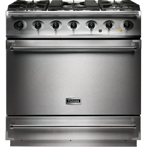 Falcon F900SDFSS/CM-EU 900 Single Cavity 90cm Dual Fuel Range Cooker Stainless Steel-Appliance People