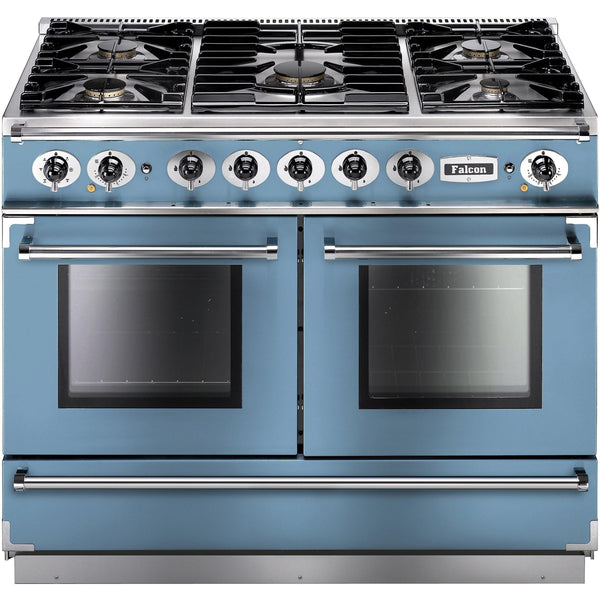 Falcon FCON1092DFCA/NM-EU 1092 Continental 110cm Dual Fuel Range China Blue-Appliance People