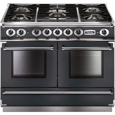 Falcon FCON1092DFSL/NM-EU 1092 Continental 110cm Dual Fuel Range Slate-Appliance People