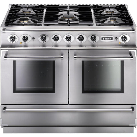Falcon FCON1092DFSS/CM-EU 1092 Continental 110cm Dual Fuel Range Stainless Steel-Appliance People