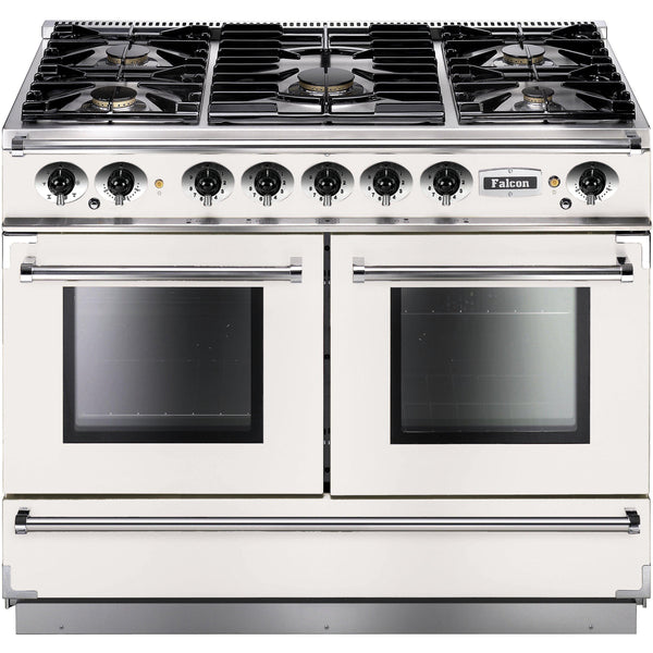 Falcon FCON1092DFWH/NM-EU 1092 Continental 110cm Dual Fuel Range White-Appliance People