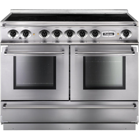Falcon FCON1092EISS/C-EU 1092 Continental 110cm Induction Range Stainless Steel-Appliance People