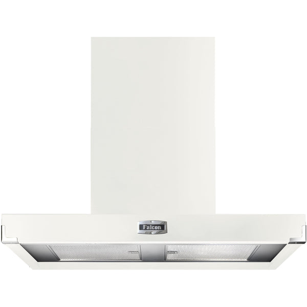 Falcon FHDCT1090WH/N 110cm Contemporary Extractor Hood White-Appliance People
