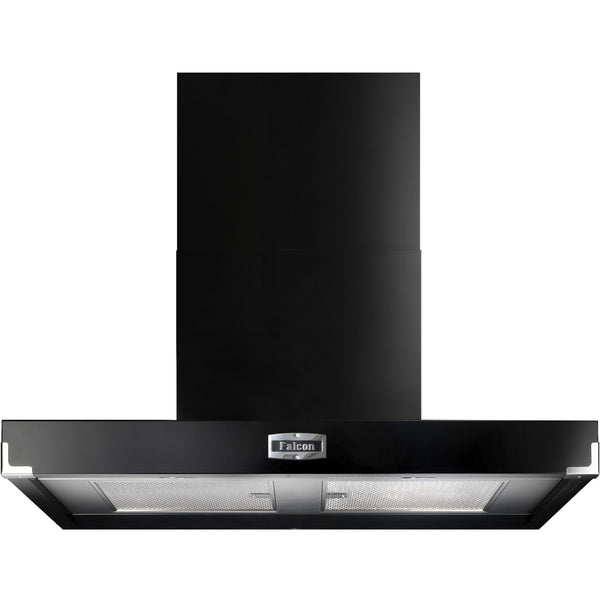 Falcon FHDCT900BL/C 90cm Contemporary Extractor Hood Black-Appliance People