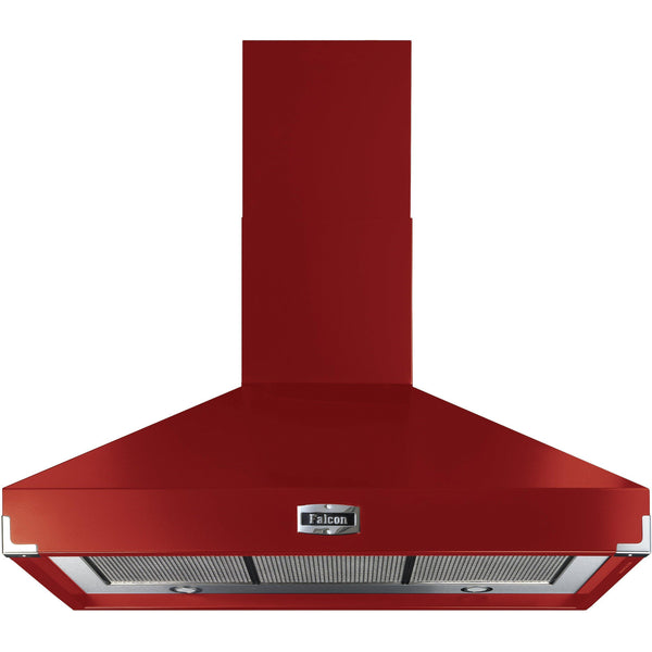 Falcon FHDSE1000RD/N 100cm Super Extract Hood Cherry Red-Appliance People
