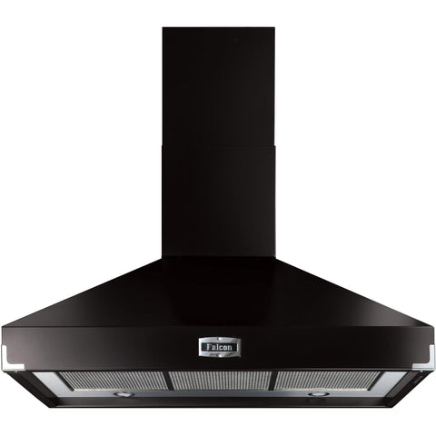 Falcon FHDSE1092BL 110cm Super Extract Hood Black-Appliance People