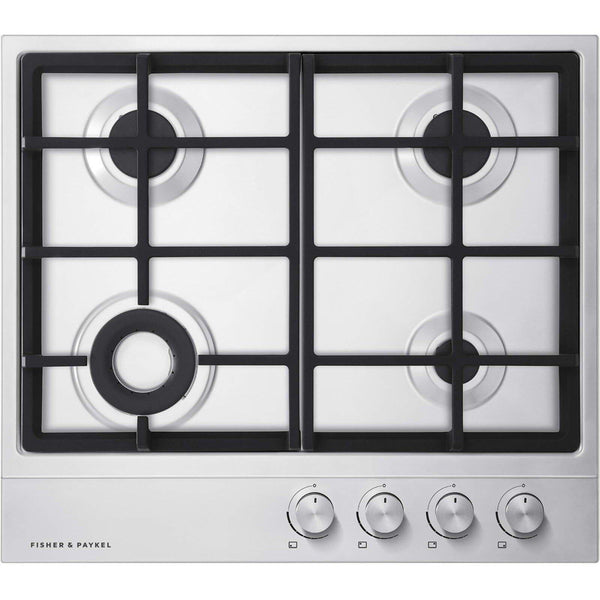 Fisher & Paykel CG604DNGX1 Gas on Steel Hob 60cm 4 Burner-Appliance People