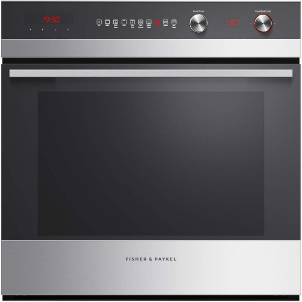 Fisher & Paykel OB60SC9DEPX1 Built-in Oven, 60cm 85L, 9 Function, Pyrolytic-Appliance People