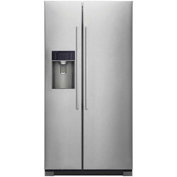 Fisher & Paykel RX611DUX1 910mm American Style Fridge Freezer with Ice and Water Stainless Steel-Appliance People