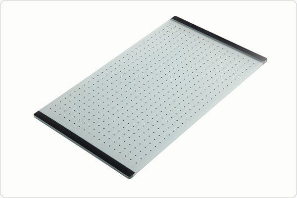The 1810 Company ZEN GLASS CHOPPING BOARD Accessories Stainless Steel-Appliance People