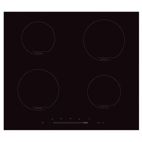 New World NWI60B 60cm Black Induction Slider Control Hob * * 3 LEFT AT THIS PRICE * *