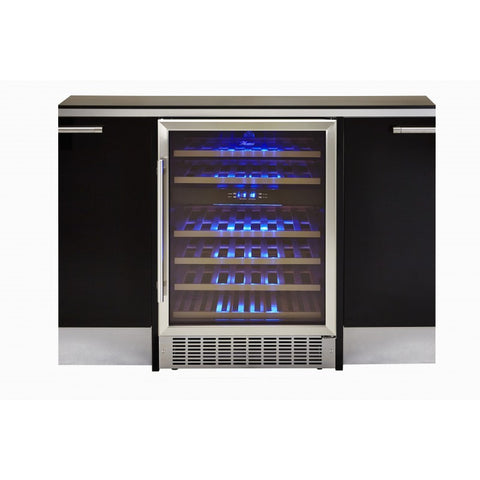 Hostess HW46MA 46 Bottle Built-in Wine Cabinet in Black * * ONLY 1 LEFT AT THIS PRICE * *