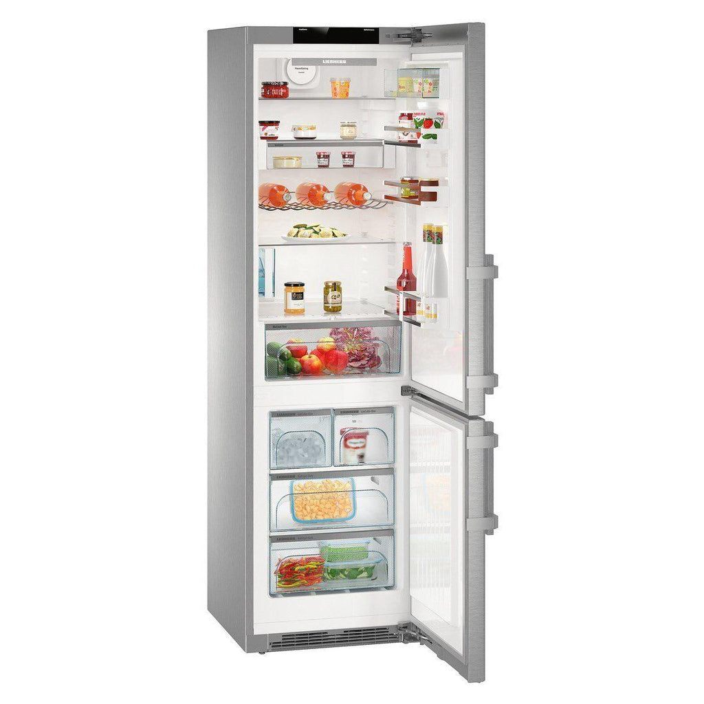 Liebherr Cnpes4868 Nofrost Fridge Freezer With Ice Maker Stainless Ste Appliance People