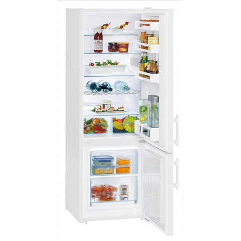 Liebherr CU2811 SmartFrost Freestanding Fridge Freezer White-Appliance People