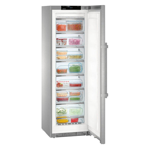 Liebherr GNPes4355 NoFrost Upright Freezer Stainless Steel-Appliance People