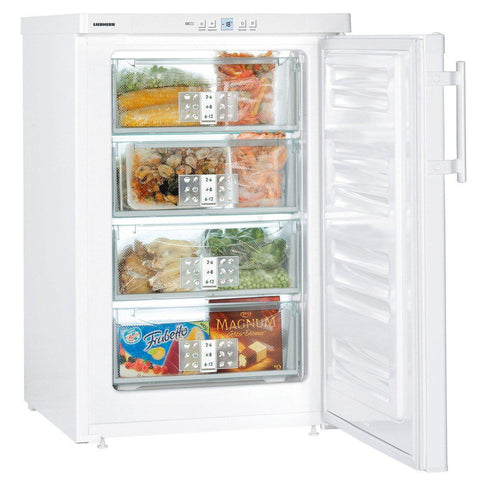 Liebherr GP1376 Under Counter SmartFrost Freezer White-Appliance People